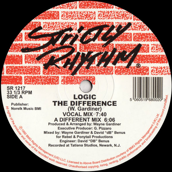 logic-wayne-gardiner-the-difference-strictly-rhythm-cover