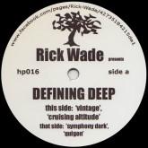 rick-wade-defining-deep-harmonie-park-cover