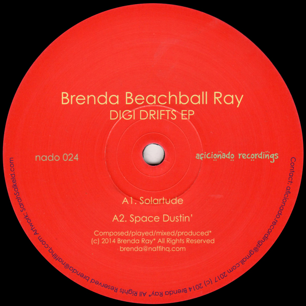 brenda-beachball-ray-digi-drifts-ep-aficionado-recordings-cover