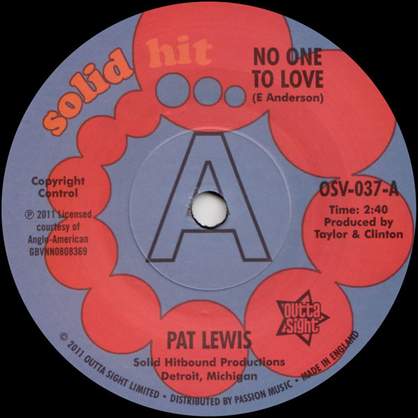 pat-lewis-no-one-to-love-look-what-i-outta-sight-cover
