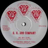 gg-company-be-my-girl-thinking-about-ppu-records-cover
