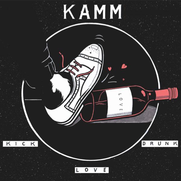 kamm-kick-drunk-love-intimate-friends-cover