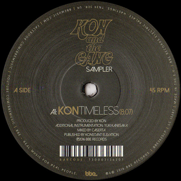 kon-kon-and-the-gang-sampler-timele-bbe-records-cover