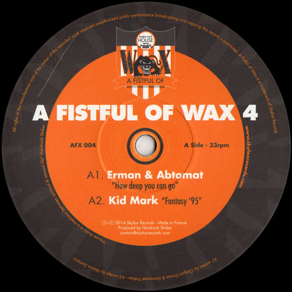 various-artists-a-fistful-of-wax-4-skylax-cover