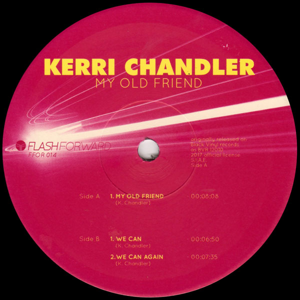 kerri-chandler-my-old-friend-flash-forward-cover