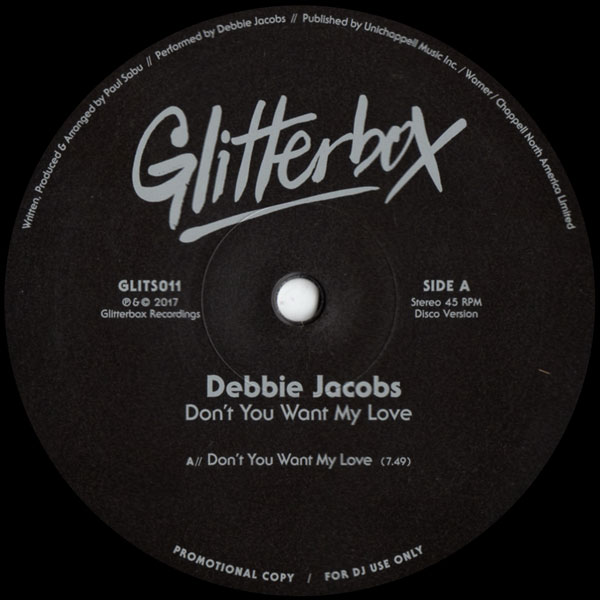 debbie-jacobs-dont-you-want-my-love-dimitri-glitterbox-cover