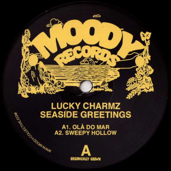 lucky-charmz-seaside-greetings-ep-moody-records-cover