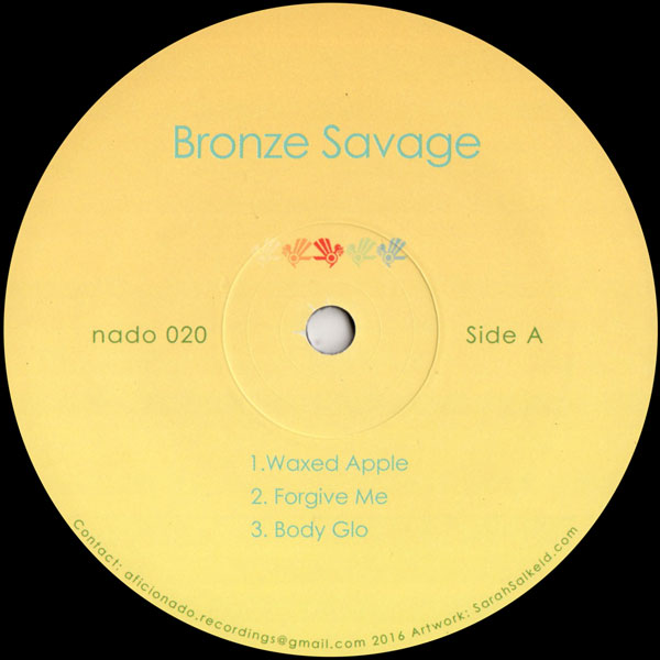 bronze-savage-bronze-savage-ep-aficionado-recordings-cover