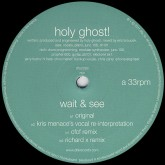 holy-ghost-wait-see-cfcf-kris-menace-dfa-records-cover