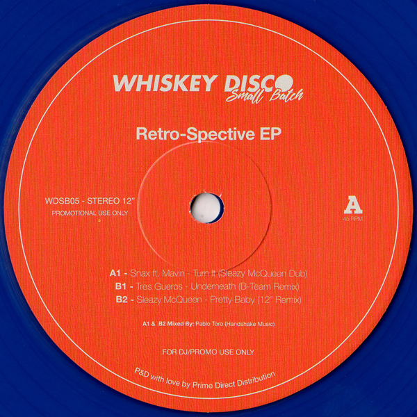 sleazy-mcqueen-retro-spective-ep-whiskey-disco-small-batch-cover