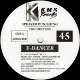 e-dancer-speaker-punishing-feel-the-kms-records-cover