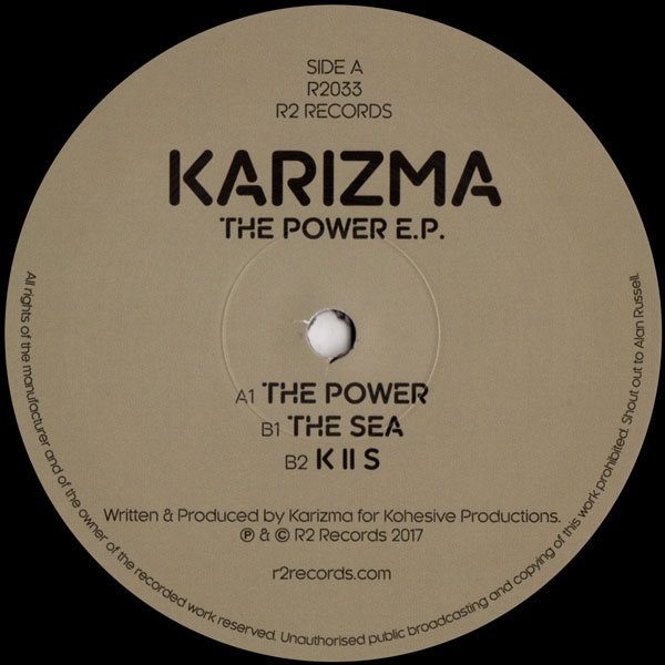 karizma-the-power-r2-records-cover