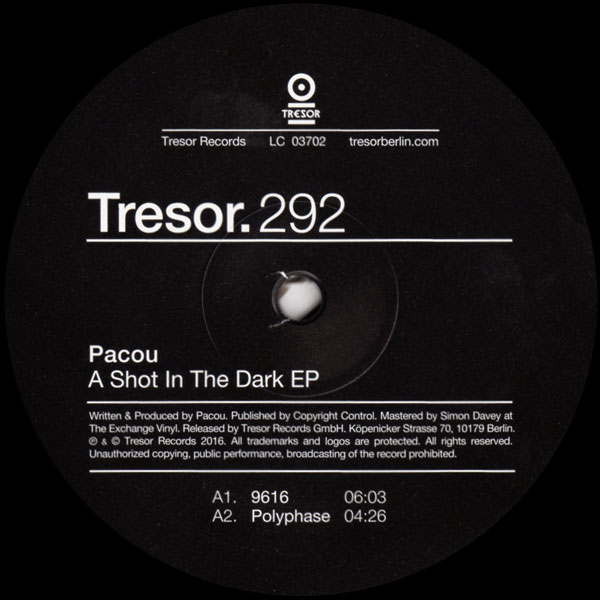pacou-a-shot-in-the-dark-ep-tresor-cover