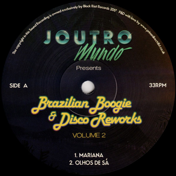 joutro-mundo-brazilian-boogie-disco-volume-black-riot-cover