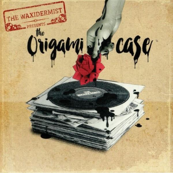 the-waxidermist-the-origami-case-lp-sound-sculpture-records-cover