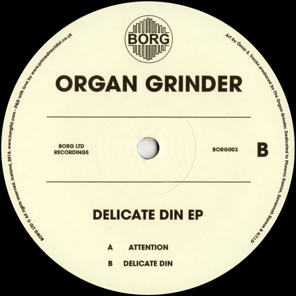the-organ-grinder-delicate-din-ep-borg-ltd-iceland-cover