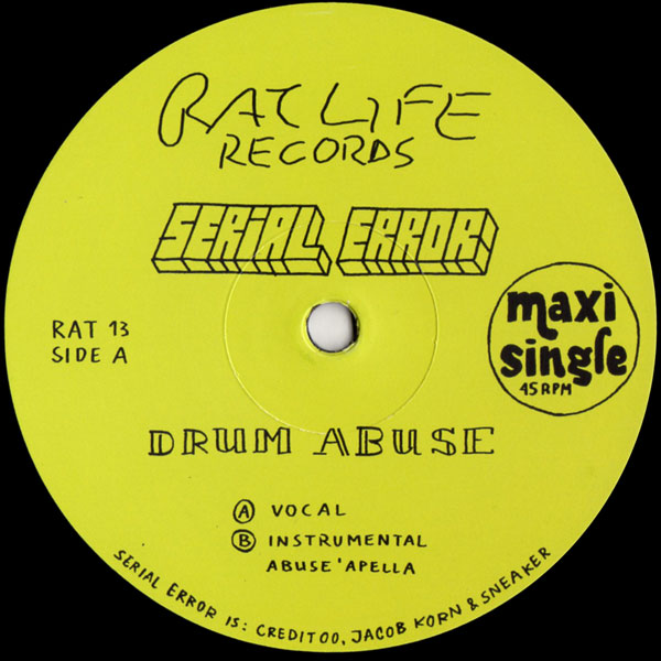 serial-error-drum-abuse-ratlife-records-cover