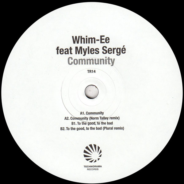 whim-ee-feat-myles-serge-community-norm-talley-plural-technorama-records-cover