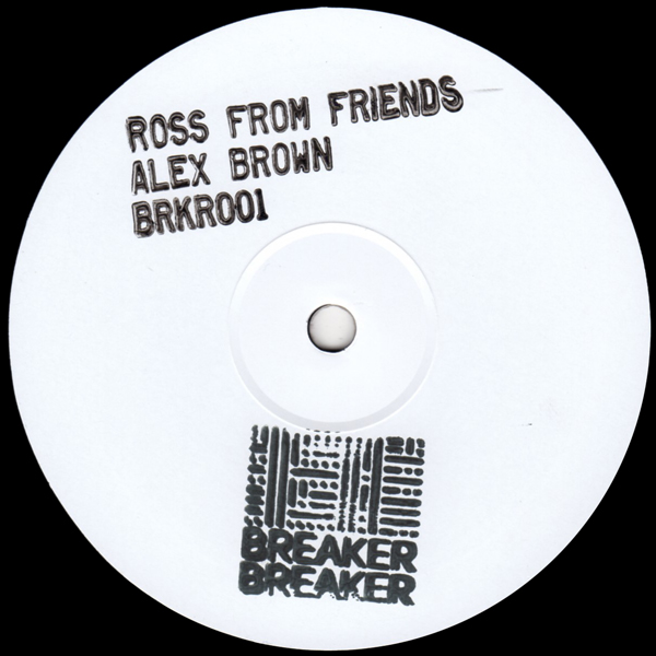 ross-from-friends-alex-brown-ep-breaker-breaker-cover