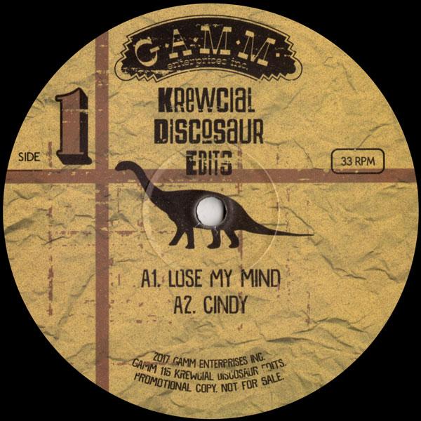 krewcial-discosaur-edits-gamm-records-cover