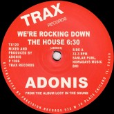 adonis-were-rocking-down-the-ho-trax-records-cover