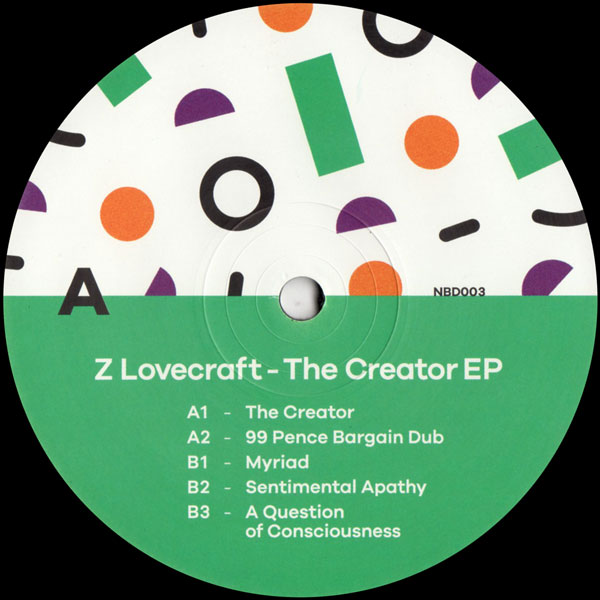 z-lovecraft-the-creator-ep-no-bad-days-cover