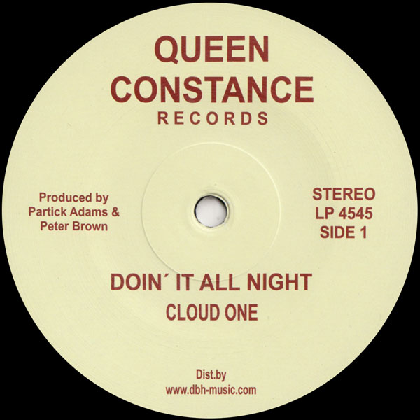 cloud-one-doin-it-all-night-dust-to-queen-constance-records-cover