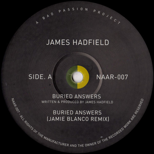 james-hadfield-buried-answers-not-an-animal-cover