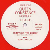 kim-taylor-licky-stump-your-feet-dance-africa-queen-constance-cover