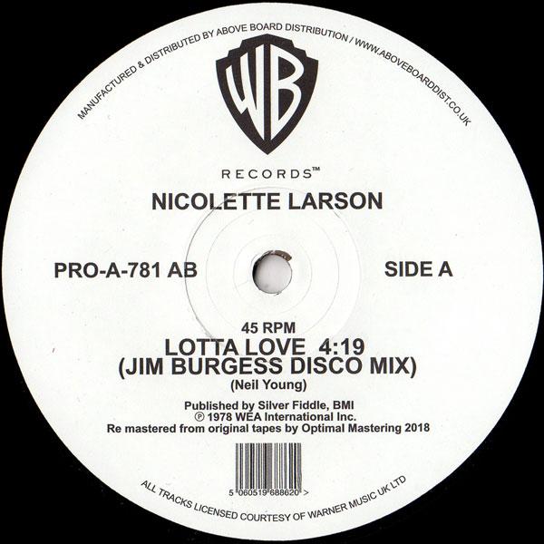 nicolette-larson-lotta-love-jim-burgess-disco-warner-bros-cover