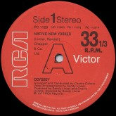 odyssey-native-new-yorker-rca-records-cover