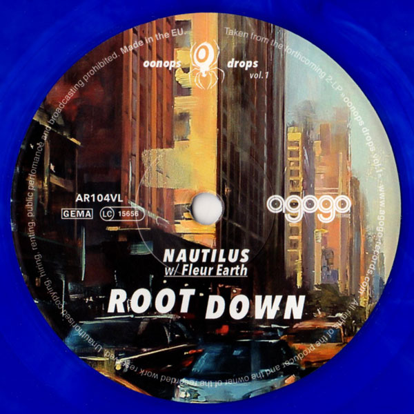 nautilus-fleur-earth-root-down-agogo-records-cover