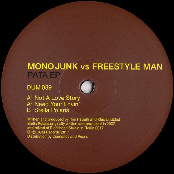 mono-junk-freestyle-man-pata-ep-dum-records-cover