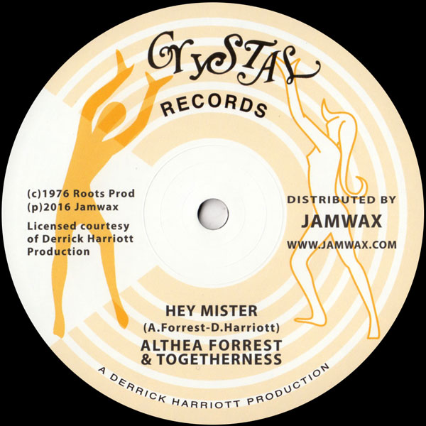 althea-forrest-togethern-hey-mister-jamwax-cover