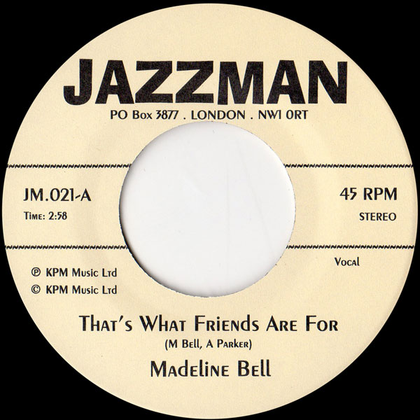 madeline-bell-alan-parker-thats-what-friends-are-for-jazzman-cover