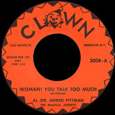 al-dr-horse-pittman-and-the-crazy-beat-woman-you-talk-too-clown-cover