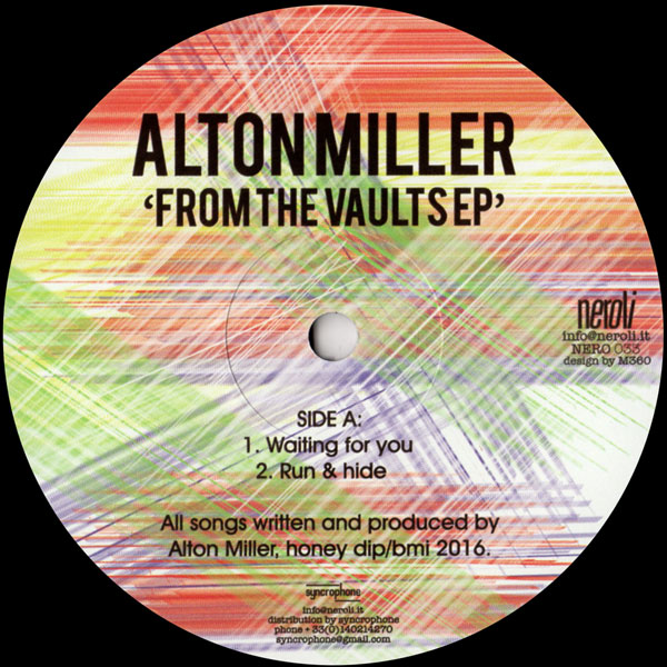 alton-miller-from-the-vaults-ep-neroli-cover