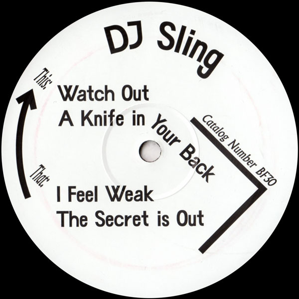 dj-sling-the-secret-ep-watch-out-born-free-cover
