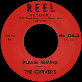 the-clervers-please-remind-me-tears-reel-records-cover