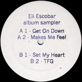eli-escobar-album-sampler-get-on-down-white-label-cover