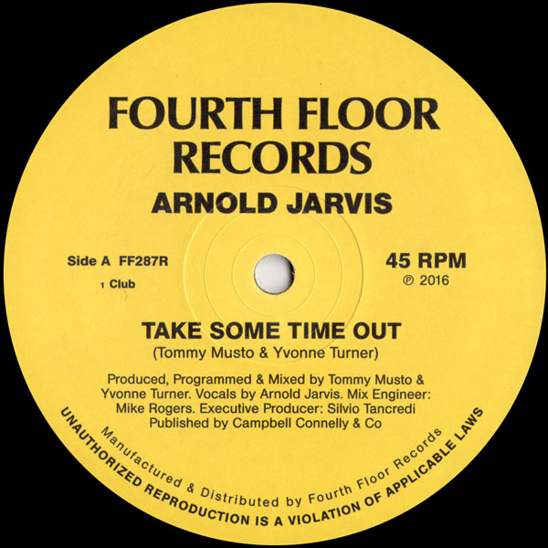 arnold-jarvis-take-some-time-out-fourth-floor-records-cover