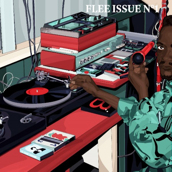 various-artists-flee-issue-n1-benga-music-a-flee-cover