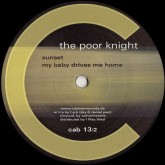 the-poor-knight-sunset-reissue-cabinet-records-cover