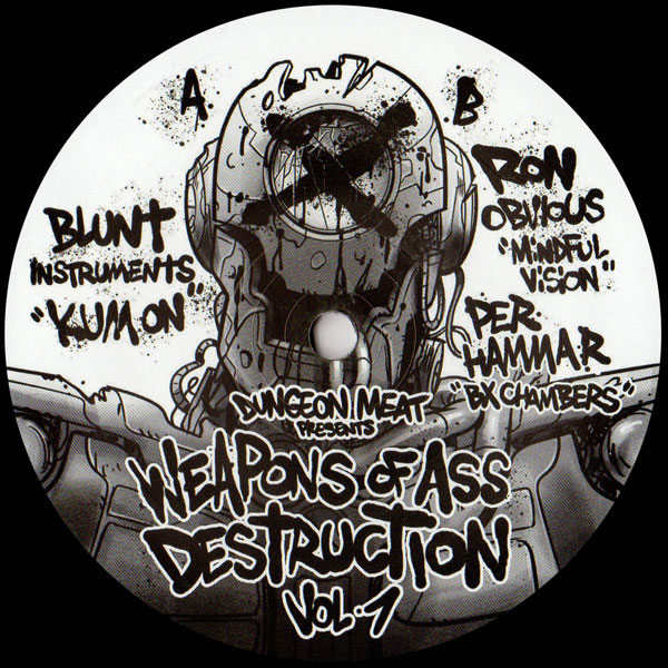 blunt-instruments-ron-obvious-weapons-of-ass-destruction-dungeon-meat-cover