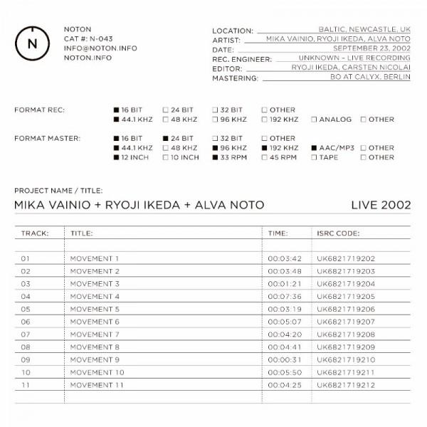 mika-vainio-ryoji-ikeda-alva-live-2002-lp-noton-cover