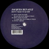 jacques-renault-dont-need-to-know-endless-flight-cover