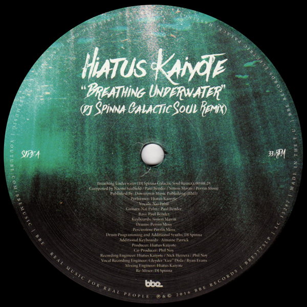 hiatus-kaiyote-breathing-underwater-dj-spinna-bbe-records-cover