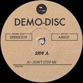 ajello-dont-stop-me-demo-disc-cover