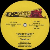teletron-what-time-express-records-cover