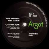 john-barera-will-martin-123-feels-right-argot-records-cover